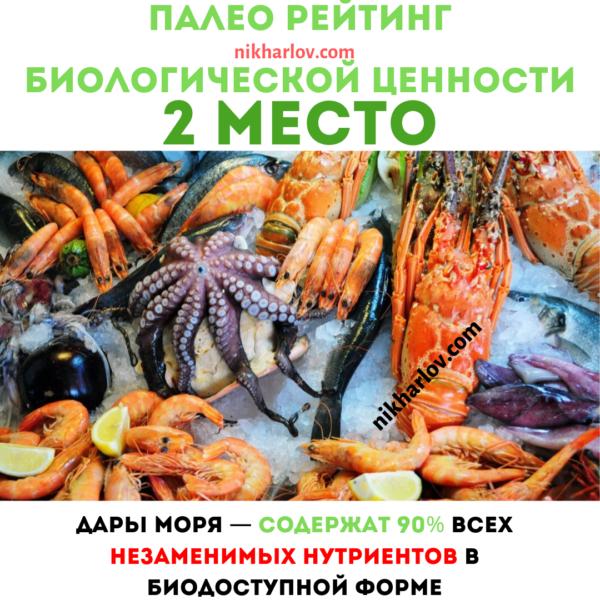 Морские животные доктор ник палео рейтинг полезная еда