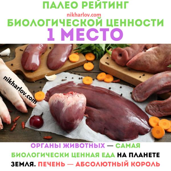 Орагны самая полезная еда доктор ник палеорейтинг